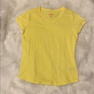 Cat and jack yellow shirt